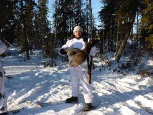 Ден Маришкин на охоте